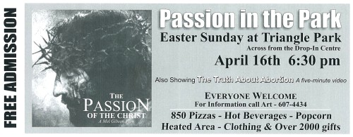 Easter Ticket