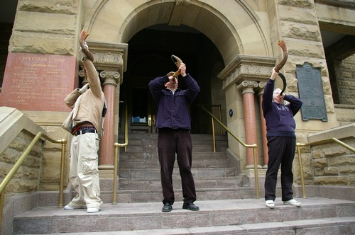City Hall - Three Shofars