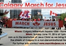 March for Jesus in Calgary on Father's Day