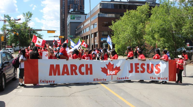 March for Jesus 2018!  What a fantastic day that was!